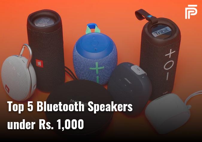 Top 5 Bluetooth Speaker under Rs.1,000